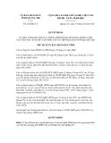 Quyết định số 222/QĐ-CT