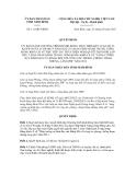Quyết định số 111/QĐ-UBND