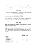 Quyết định số 318/QĐ-TTg