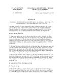 Văn bản Kế hoạch số 20/KH-UBND