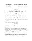 Quyết định số  20/QĐ-BCĐPPP