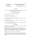 Quyết định số 11/2013/QĐ-UBND