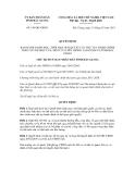 Quyết định số 198/QĐ-UBND
