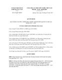 Quyết định số  651/QÐ-UBND