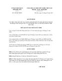 Quyết định số 344/QĐ-UBND