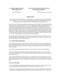Thông báo số 1009/TB-BNN-VP