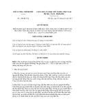 Quyết định số 310/QĐ-TTg