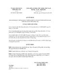 Quyết định số 09/2013/QĐ-UBND