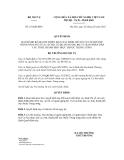 Quyết định số 152/QĐ-BNV