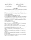 Quyết định số  10/2013/QĐ-UBND