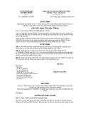 Quyết định số 105/QĐHC-CTUBND