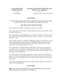 Quyết định số 224/QĐ-CT