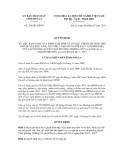 Quyết định số  284/QĐ-UBND