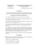 Quyết định số 121/QĐ-UBND