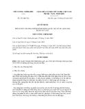 Quyết định số 321/QĐ-TTg