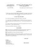 Quyết định số 45/QĐ-UBND