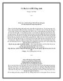 Cỏ Ba Lá và Bồ Công Anh