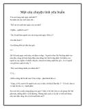 Truyện ngắn Một câu chuyện tình yêu buồn