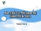 """Đề tài """" Bản Chất Và Mối Quan Hệ Giữa FDI và ODA """""""