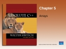 Chapter 5 Array list