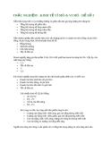 TRẮC NGHIỆM - KINH TẾ VĨ MÔ & VI MÔ - ĐỀ SỐ 3