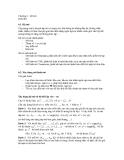 Chương 6 - Hệ mờ