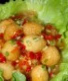 Trứng cút xốt ớt