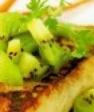 Phi lê cá hồng xốt kiwi