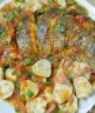 Cá xốt nấm rơm