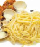Mì Ý xốt hải sản cà ri
