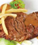 Thịt cừu xốt tiêu xanh