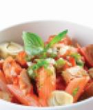 Nui gạo xốt cá ngừ