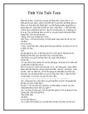 Truyện ngắn Tình Yêu Tuổi Teen