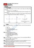 Hai Đường thẳng vuông góc - Toán hình học lớp 7