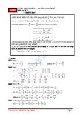 Chuyên đề 1: Số hữu tỉ - Toán đại số lớp 7