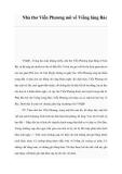 Nhà thơ Viễn Phương nói về Viếng lăng Bác