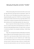 """Bình giảng 20 dòng đầu của bài thơ """"Việt Bắc"""""""