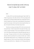 """Phân tích sức sống tiềm tàng của nhân vật Mị trong truyện """"Vợ chồng A Phủ"""" của Tô Hoài?"""