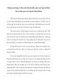 Những cảm hứng về đất nước bài thơ Đất nước của Nguyễn Đình Thi và Đất nước của Nguyễn Khoa Điềm