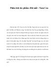 Phân tích tác phẩm: Đôi mắt - Nam Cao