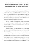 """Phân tích nhân vật Mị trong truyện """"Vợ chồng A Phủ"""" của Tô Hoài (giai đoạn Mị ở Hồng Ngài, trong nhà thống lý Pá Tra)"""