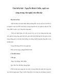 Tìm hiểu bài : Nguyễn Đình Chiểu, ngôi sao sáng trong văn nghệ của dân tộc