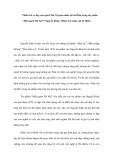 """Phân tích vẻ đẹp của người Hà Nội qua nhân vật bà Hiền trong tác phẩm """"Một người Hà Nội"""" (Nguyễn Khải). (Phân tích nhân vật bà Hiền)"""