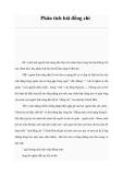 Ngữ văn lớp 9 - Phân tích bài Đồng chí