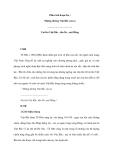 Phân tích đoạn thơ : Những đường Việt Bắc của ta - Vui lên Việt Bắc , đèo De , núi Hồng