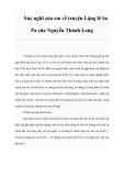Suy nghĩ của em về truyện Lặng lẽ Sa Pa của Nguyễn Thành Long