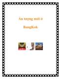 Ấn tượng mới ở BangKok