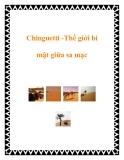 Chinguetti -Thế giới bí mật giữa sa mạc