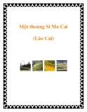 Một thoáng Si Ma Cai (Lào Cai)