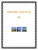 Kinderdijk - làng cối xay gió